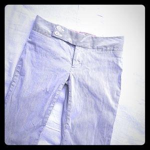 Gap stripped pants